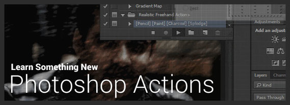 Learn Something New: Photoshop Actions